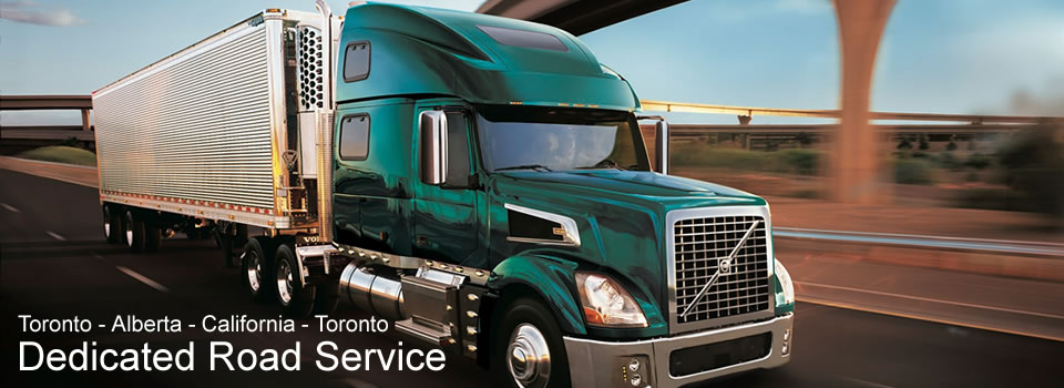 Long Haul Truckload Service such as GTA-Alberta.